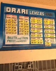 Hand_written_train_timetable_in_Tirana
