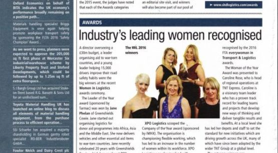 Industry's Leading Women Recognised