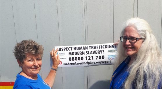 Raising Awareness about Human Trafficking